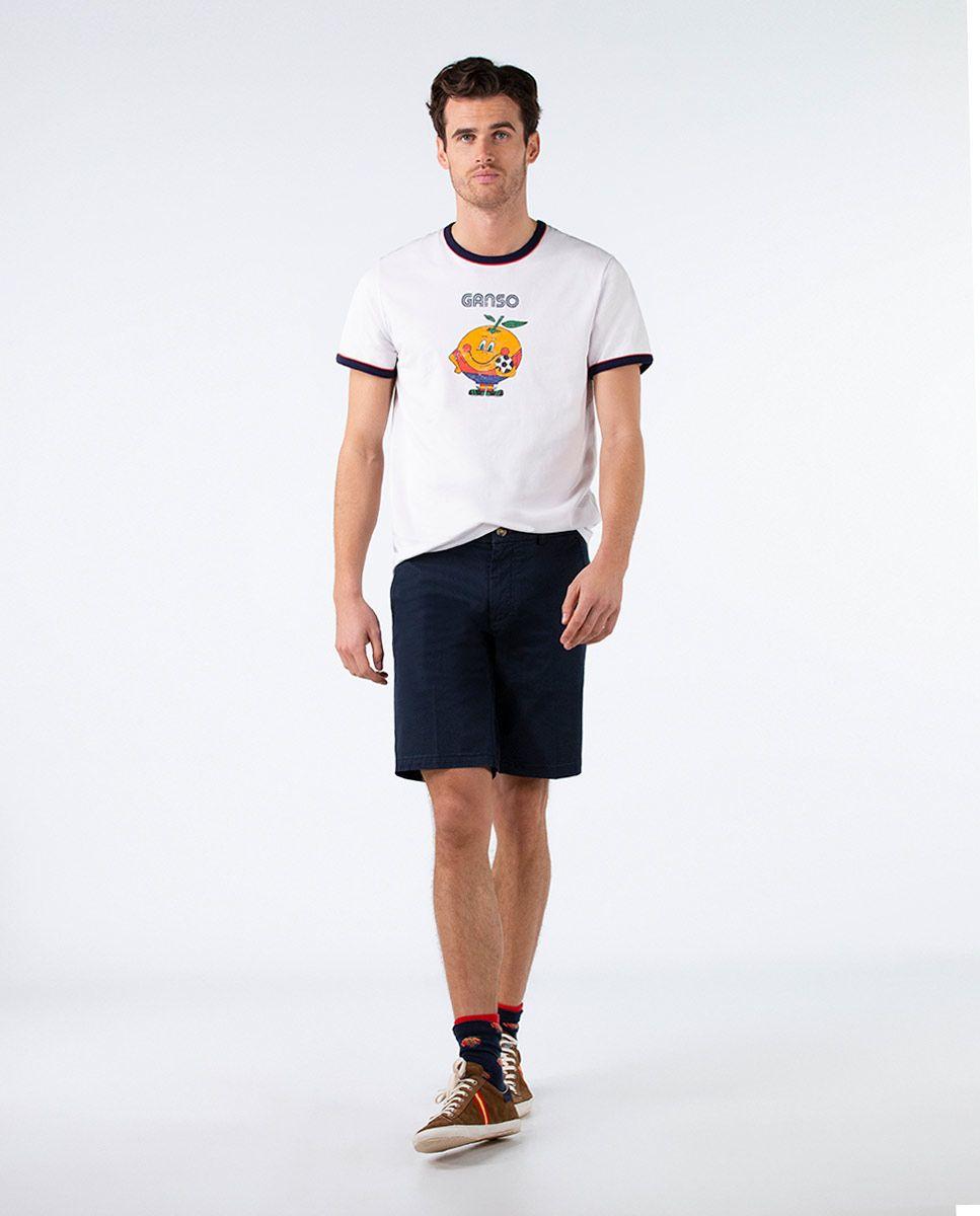 Camiseta Naranjito Selección RFEF Blanca. Image 3