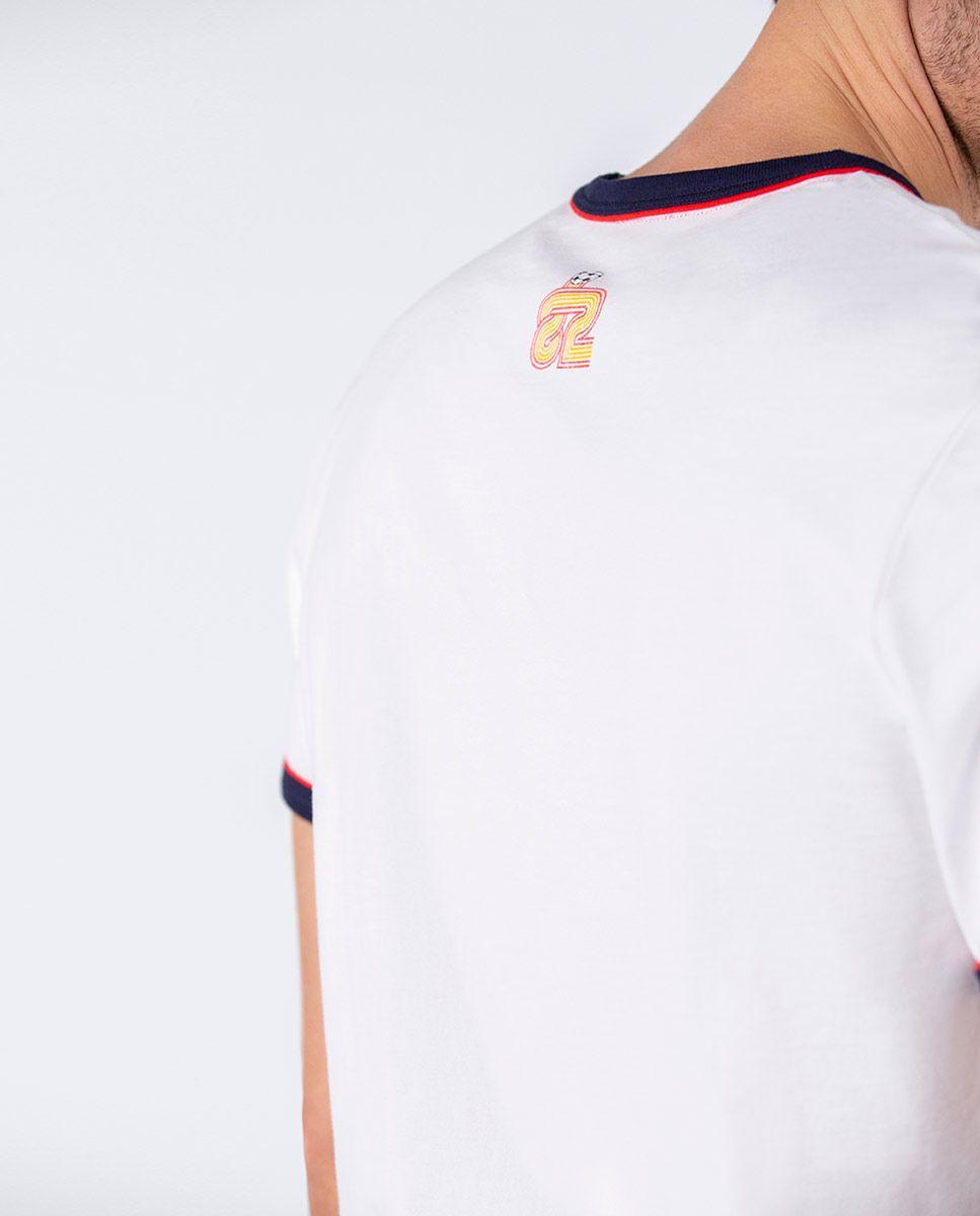 Camiseta Naranjito Selección RFEF Blanca. Image 4