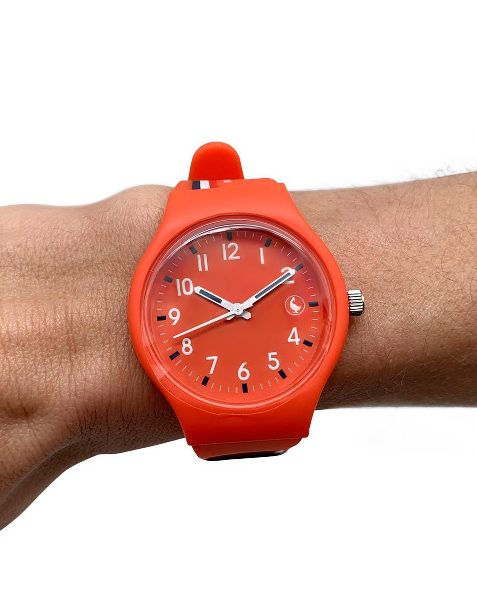 Reloj Ganso Naranja Image 5