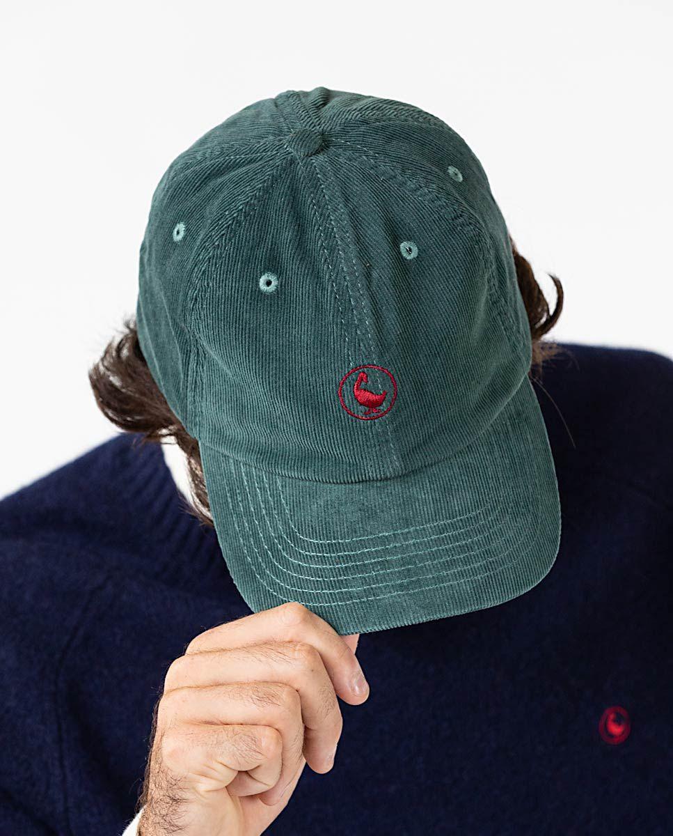 Gorra de Pana Verde Image 4