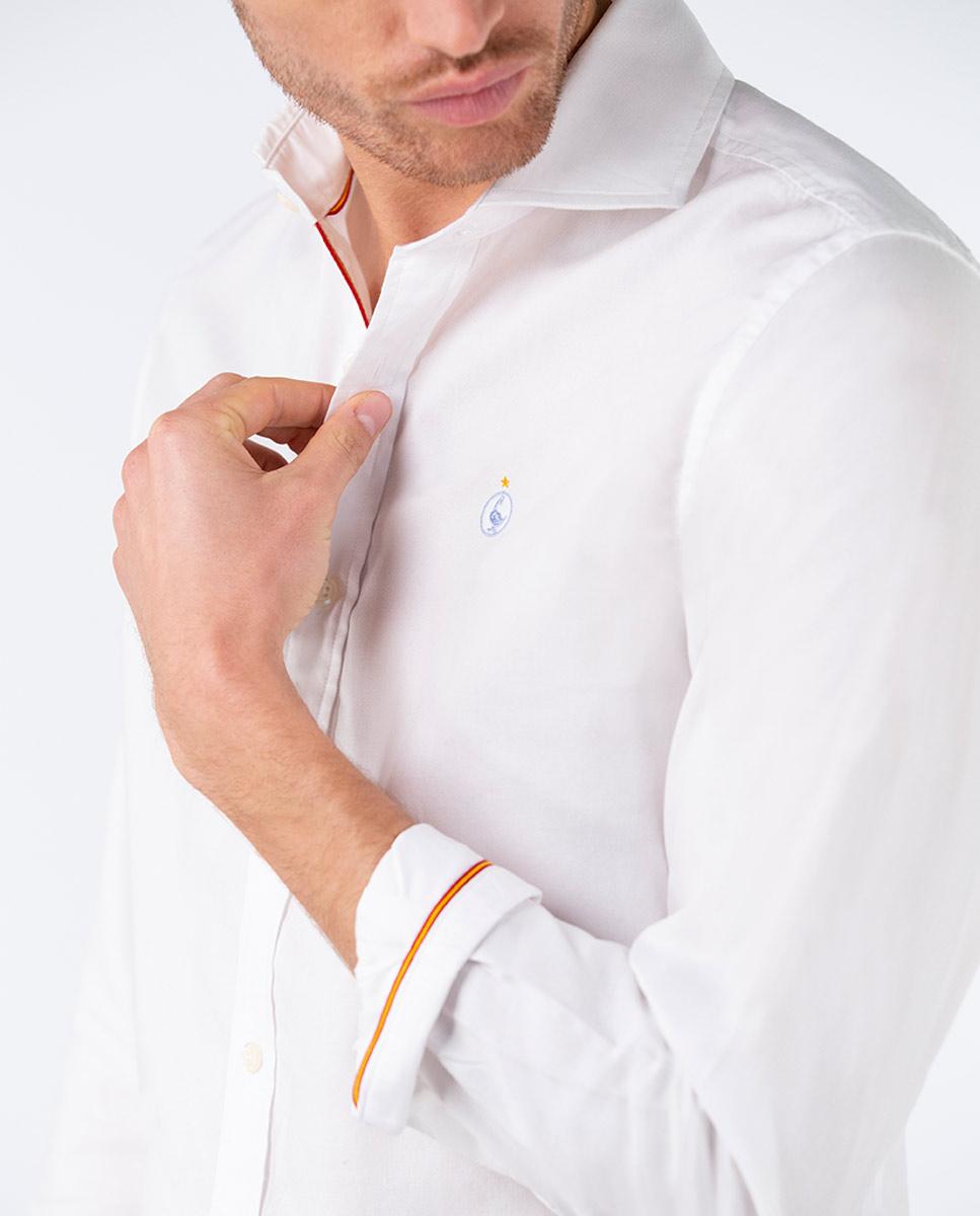 Plain White Oxford Shirt RSFF