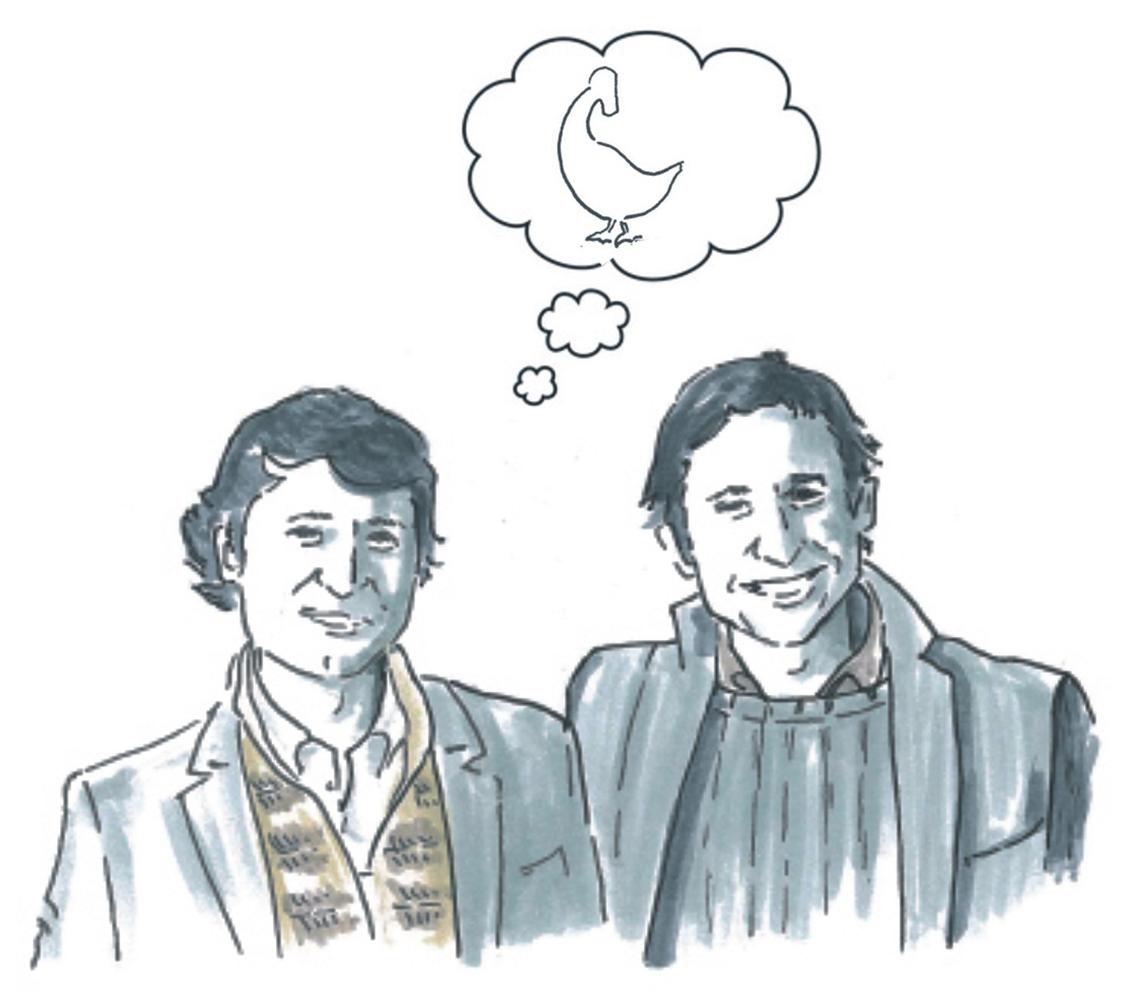 Clemente y Alvaro Sueño