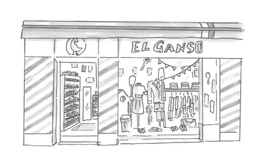Tienda Fuencarral About Us El Ganso