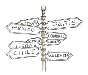 Todas direcciones About us El Ganso